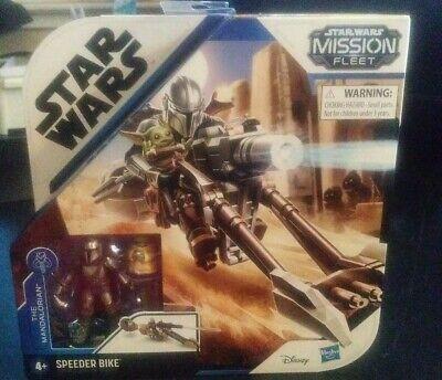 Star Wars Mission Fleet The Mandalorian & The Child Speeder Bike