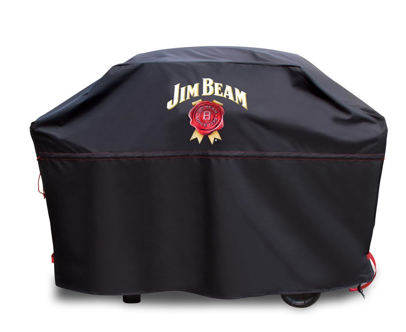 Jim Beam® BBQ Grillabdeckung Premium für mittlere bis große Grills Abdeckung M/L