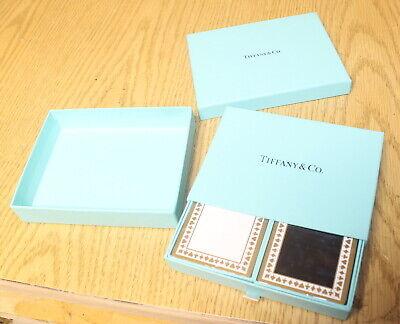 Tiffany & Co. Black White Novelty Poker Blackjack Playing Cards SEALED NR