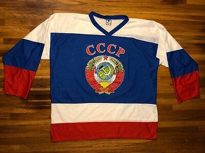 Vintage Sergei Federov #91 Cccp Russian Red Army-size Xl-zoo Graphics фЕДОРОВ