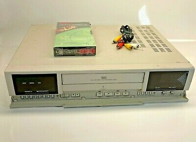 American Dynamics Ad8016 Vcr Recorder Time-lapse Cctv Security White Black