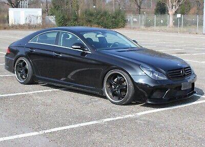 Seitenschweller für Mercedes Benz CLS W219 AMG Black Series Seitenleisten +TÜV