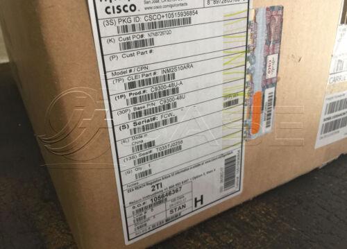 New Sealed Cisco C9300-48u-a Catalyst Ws 9300-48u-a Switch Network Advantage