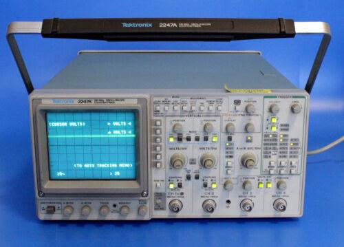 Tektronix 2247A 100MHz Oscilloscope Counter/Timer