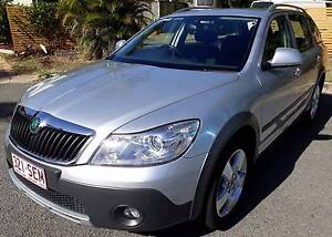 2011 [MY12] Skoda Octavia Scout 4x4 Wagon Diesel 6-speed Manual Mermaid Beach Gold Coast City Preview