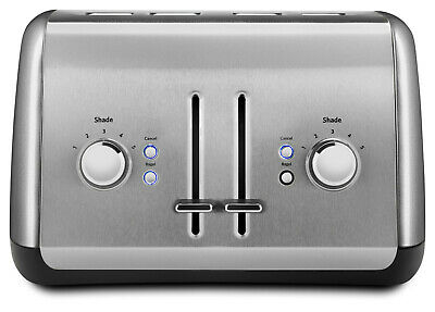 BRAND NEW - KitchenAid 4-Slice Toaster, Contour Silver (KMT4115CU)