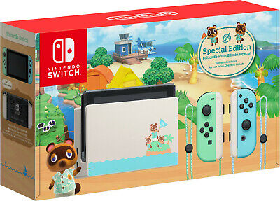 🔥 Nintendo Switch Console Animal Crossing New Horizon SE - SHIPS OUT FAST! 🔥
