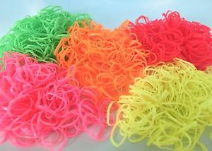 X1000-Small-Rubber-Hair-bands-Ponytail-Holder-Braid-Doll-Dog-Hair-Elastic-Bands