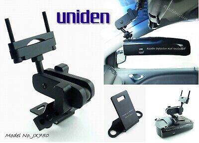 Uniden R1、R3、その他のレーダー探知機モデルに適したニースカーミラーマウント