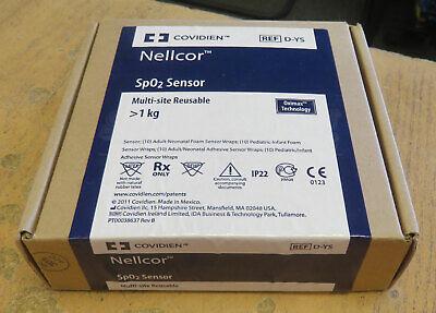 Covidien Nellcor D-ys Spo2 Reusable Multi-site Sensor New Nib