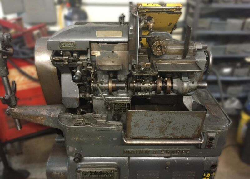 Brown & Sharpe Screw Machine, Spindles Machine, Tooling + Collets Included