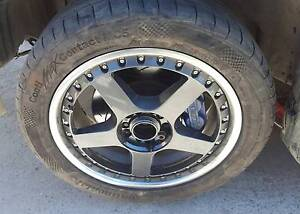Wed kranze 3 piece wheels 5 stud muti Subaru wrx   Mercedes benz Bungendore Queanbeyan Area Preview