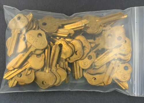 Lots of S4 1010U O1010 5SA1 SAR37 SAR-5D Type Key Blanks for Sargent 265U Keyway