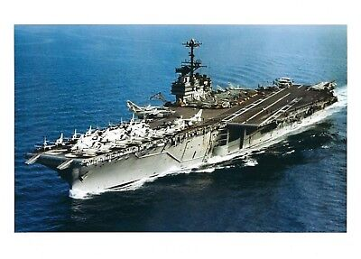 USS INDEPENDENCE 8X10 PHOTO CV-62 NAVY US USA MILITARY SHIP AIRCRAFT CARRIER