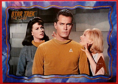 """STAR TREK TOS 50th Anniversary - """"THE CAGE"""" - GOLD FOIL Chase Card #45"""