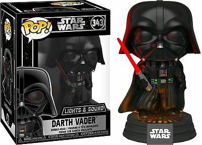 Funko Pop Star Wars Darth Vader Electronic #343 figure - Damage Box