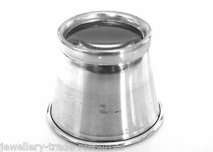 WATCHMAKERS-JEWELLERS-5x-MAGNIFIER-EYEGLASS-MAGNIFYING-EYE-GLASS-LOUPE-LENS