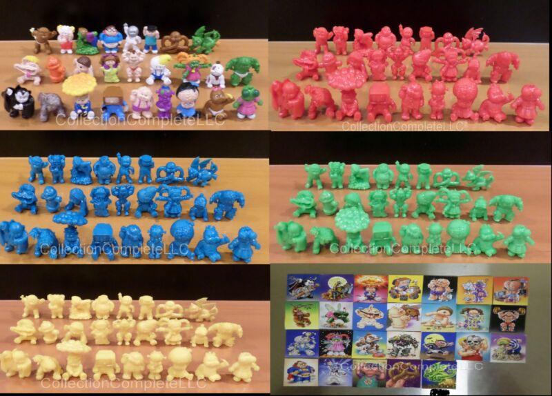 Garbage Pail Kids Minikins Series 1 - PAINTED RED BLUE GREEN YELLOW, Pick ONE