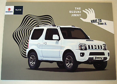 Suzuki . Jimny . October 2015 Sales Brochure
