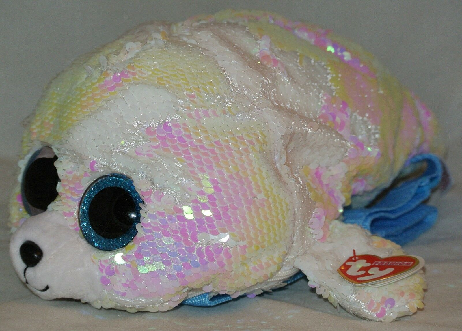 TY Beanie Boos FASHION GEAR Color Changing Sequins ICY Seal