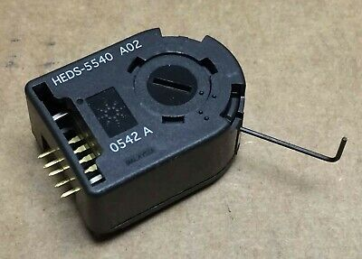 Encoder Heds-5540 A02 Encoder Rotary Optical Avago Technologies 500ppr
