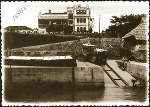 A-VIEW-FROM-VICTORIA-HARBOUR-OF-HULLETT-HOUSE-THE-FORMER-MARINE-POLICE-1881