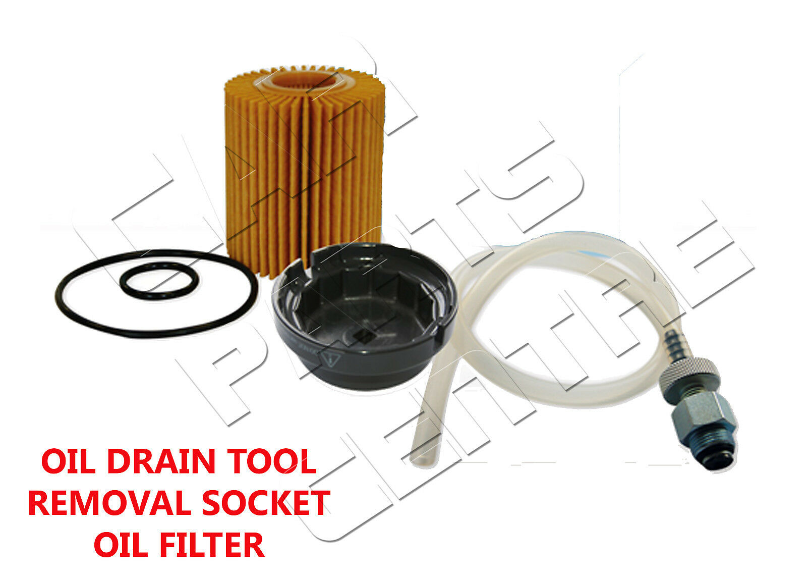 FOR TOYOTA RAV4 RAV-4 2.0 D4D OIL FILTER DRAIN DRAINING SOCKET ...