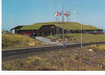 The Nordic House Torshavn Faroe Islands Postcard Unused VGC