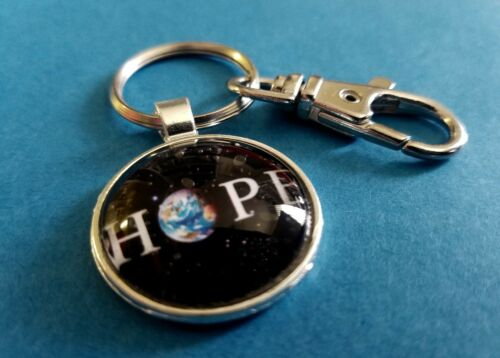 HOPE for the Planet Earth Key Chain Pendant Benefits Conservation International