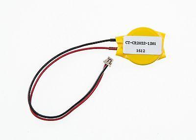 CR2032 Dell Latitude E6420 E6520 x1 E7240 CMOS Time BIOS battery batterie RTC