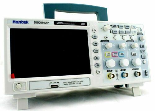 NEW Hantek DSO5072P Digital Oscilloscope 70MHz 2Channels 1GS/s 7