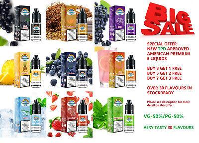 10ml RAINBOW Vape E Liquid Juice Eliquid Vape - 0/3/6/11/18mg nicotine - TPD