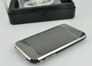 Apple iPhone 3G 8GB Black FACTORY Unlocked Smartphone UNIT ONLY UK SELLER
