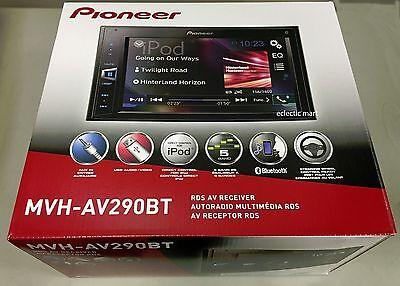 Pioneer MVH-AV290BT 2-DIN Car Digital Media Rcvr,iPhone/USB/Bluetooth/Pandora