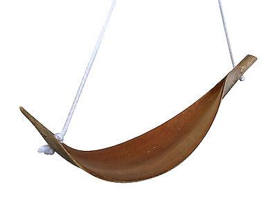 Kokosblattschaukel 30cm-40cm mit Karabiner, Vogelspielzeug, Kanarien Sittiche