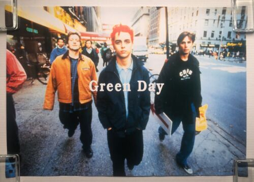 GREEN DAY Insomniac 1995 WEA Records Japan PROMO POSTER Billie Joe Armstrong