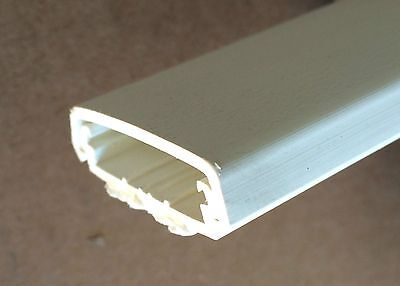 Wiremold Legrand 800bac White Wire Duct Raceway Adhesive Backed Channel 20 New
