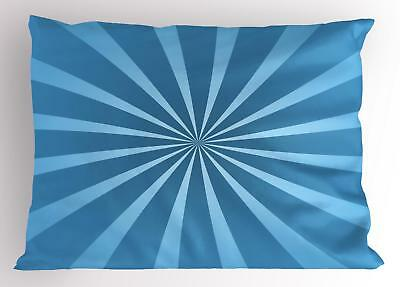 Vintage Blue Pillow Sham Decorative Pillowcase 3 Sizes for B
