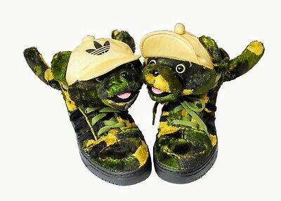 Adidas Jeremy Scott Camo Bear JS Obyo High End Sneaker