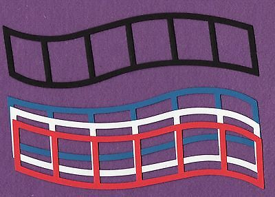 Film Strip Frame (FILM STRIP FRAME extra long die cuts scrapbook)