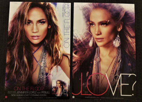 Dealer/FAN lot of TEN posters  JENNIFER LOPEZ official double-sided PROMO poster