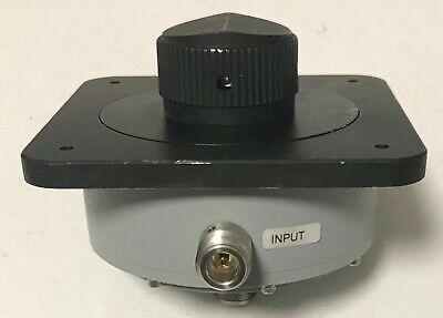 Aeroflex Weinschel Attenuator 940-60-33-1 Continuously Variable Dc 4ghz 6-66db