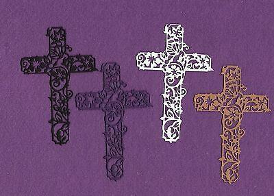 CROSS # 4 Jesus Easter die cuts scrapbook cards