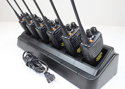6-pack Of Vertex Vx451 Vx-451-g7-5 Uhf 450-512 Mhz 32 Ch 5w W Prof. Engraving