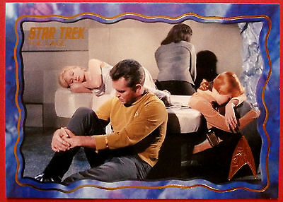 """STAR TREK TOS 50th Anniversary - """"THE CAGE"""" - GOLD FOIL Chase Card #53"""