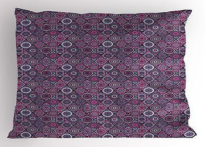 Mandala Pillow Sham Decorative Pillowcase 3 Sizes Bedroom De