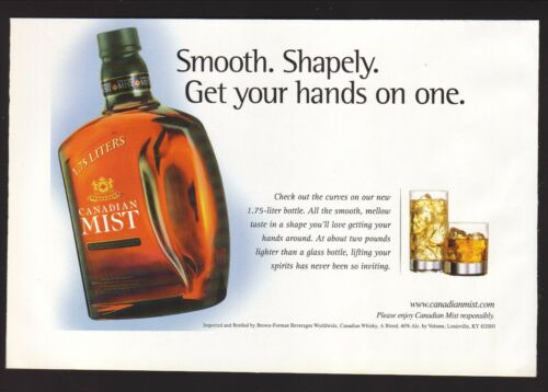 Canadian Mist Whiskey--2000 Magazine Advertisement