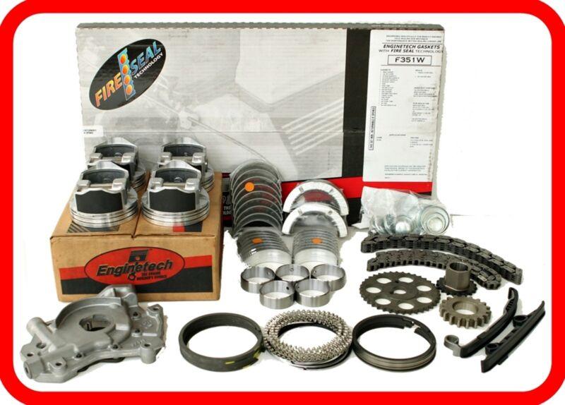 Engine Rebuild Overhaul Kit Fits: 2007-2011 Scion Tc Xb 2.4l Dohc L4 2azfe