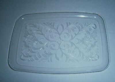 26 New Decorative Clear Rectangular Plastic Serving Trays 7.5