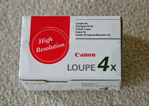 Canon 4X loupe